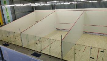Squash Court Glasss